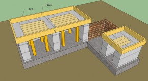 diy outdoor kitchen plans   HowToSpecialist - How to Build, Step