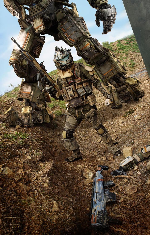 Titanfall 2 : Pulse Blade PIlot - AndrewDFT by CpCody on ...