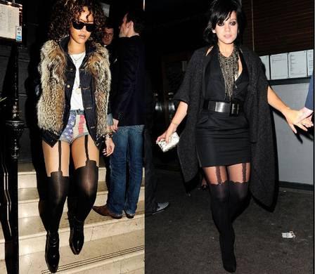 Rihanna e Lilly Allen são algumas das celebridades que aderiram à tendência