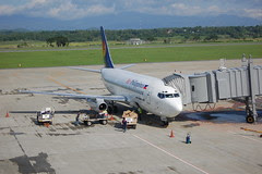 Air Philippines Boeing 737-200 at Iloilo Airport