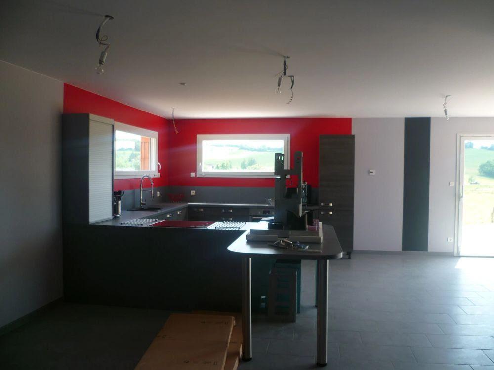 Peinture Chambre Gris Et Rouge