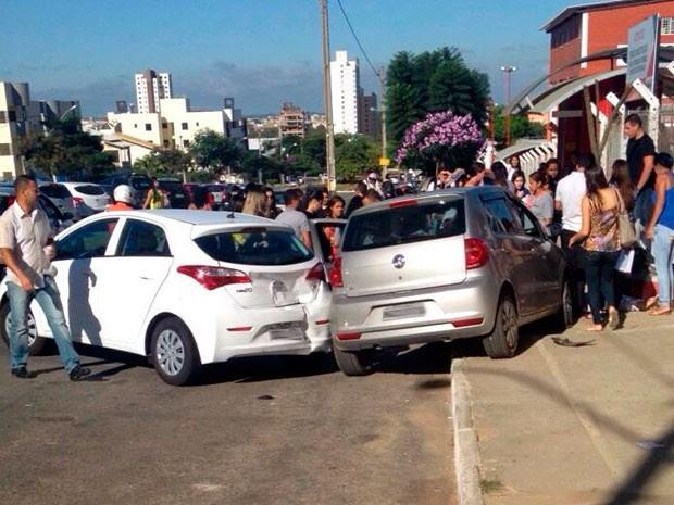 Atropelamento em Vitória da Conquista (Foto: Marcelo Guerra/Arquivo pessoal)