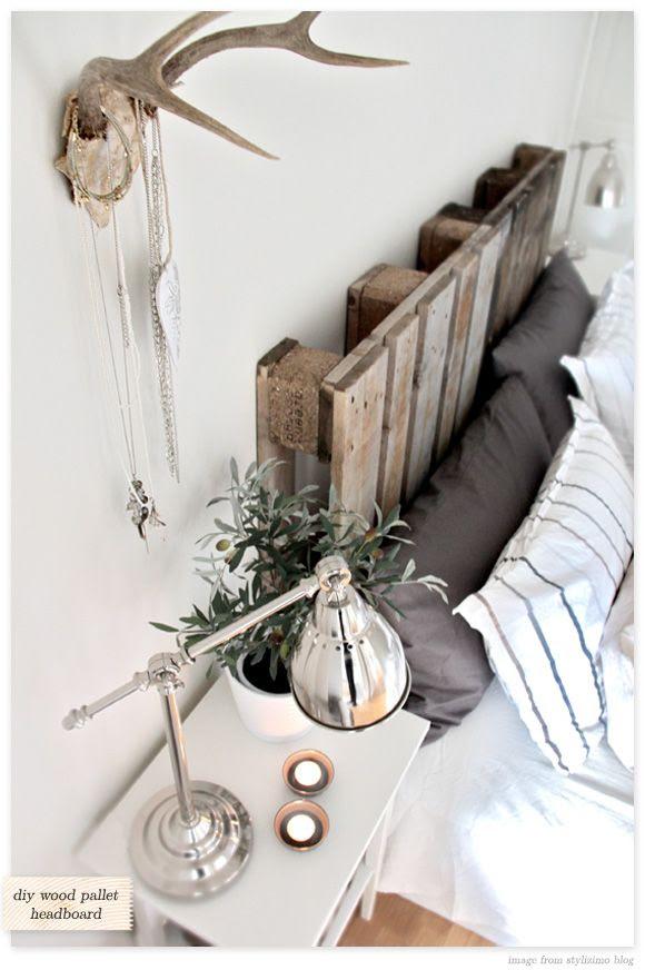 cabecero cama palets obra reciclados