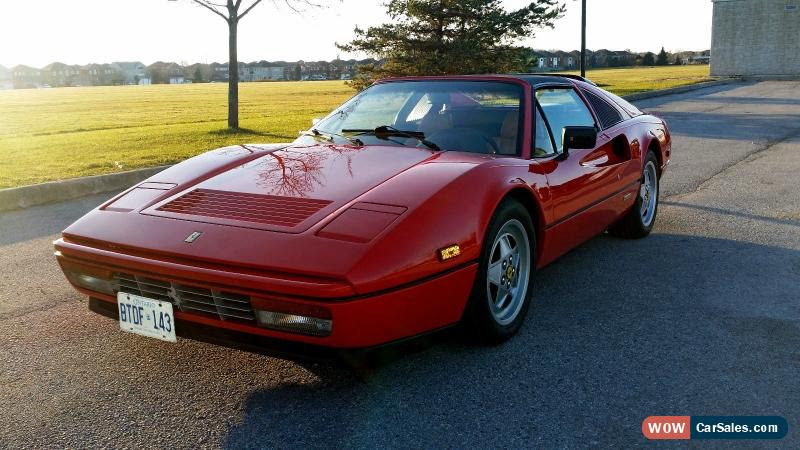 1989 Ferrari 328 For Sale In Canada