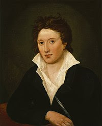 Portrait of Percy Bysshe Shelley