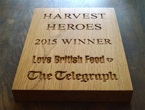 Engraved Wooden Award Plaques   MakeMeSomethingSpecial