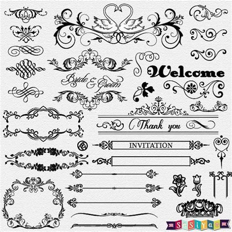 Free Wedding Card White Designs Clipart, Download Free