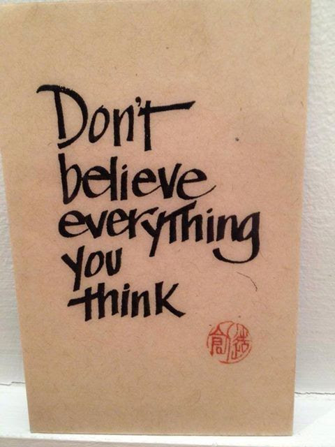 Dont Believe Everything You Think Limitlesslessons
