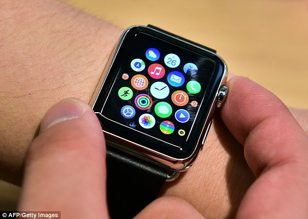 Answering questions on Reddit , Wozniak wrote: 'I love my Apple Watch, but it's taken us [Apple] into a jewellery market where you're going to buy a watch between $500 or $1100 based on how important you think you are as a person.' Stock image pictured