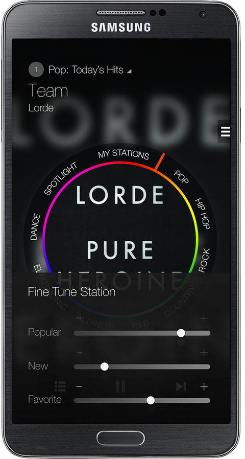Milk Music in Note 3 Fine Tune Lorde