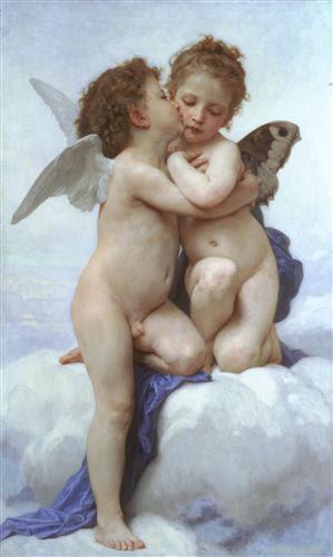 Cupid andPsyche - William-Adolphe Bouguereau
