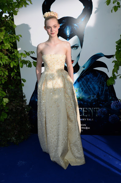 Elle Fanning - 'Maleficent' Costume and Props Reception
