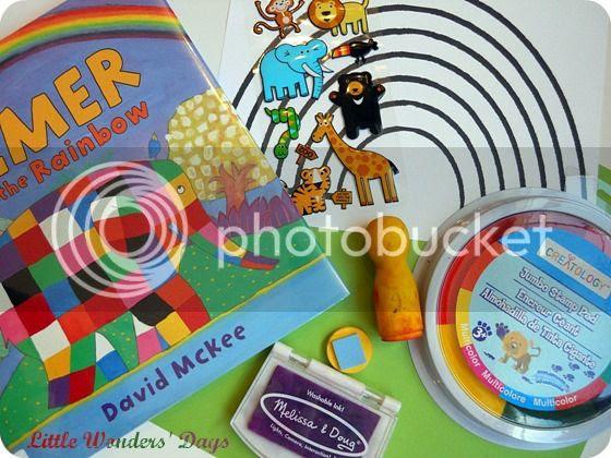Elmer and the Rainbow Craft