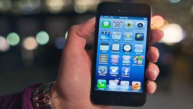 PHOTO:Apple's iPhone 5.