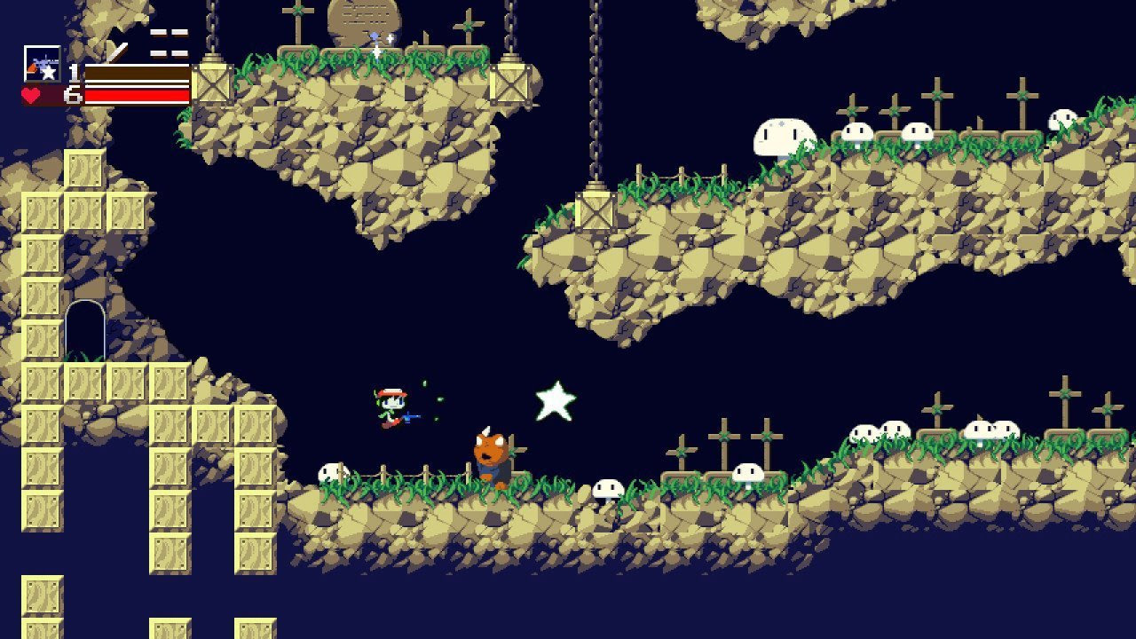 Cave Story+ will offer 'classic graphics' on Switch next month screenshot
