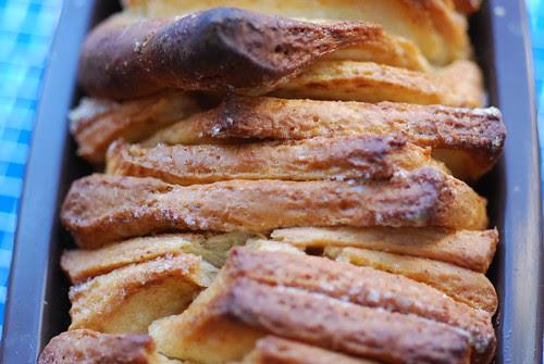 Cinnamon loaf closeup