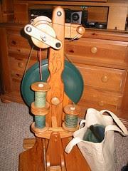 My majacraft alpaca wheel