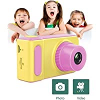 NTech Kids Digital Camera Cute X1 1080P HD Video Action Camcorder with Loop Recording & Digital Photography & 2 inch Screen - Mini Multi-Functional Camera for Kids