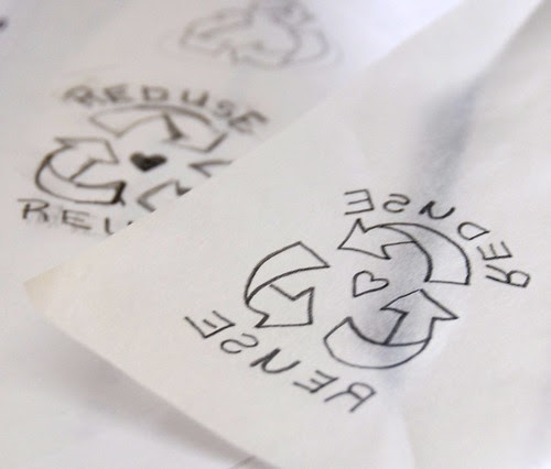 Reduce & Reuse Stamp