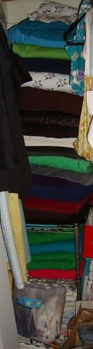 fabric stash part of another closet