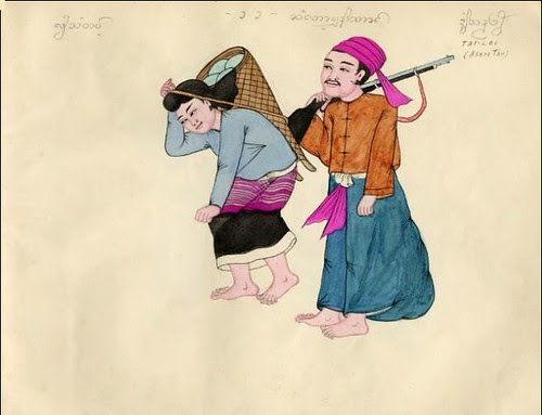 Tribes of Burma - Tai_loi (Hsam Tao) 1900