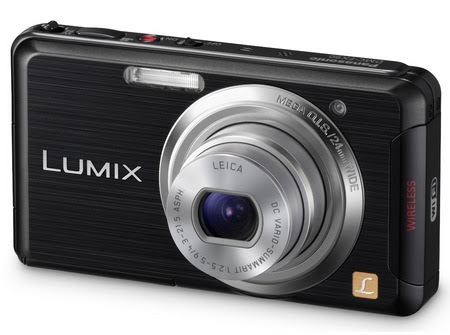 Panasonic LUMIX DMC FX90 WiFi enabled Panasonic Lumix DMC FX90 Wi Fi Enabled Digital Camera