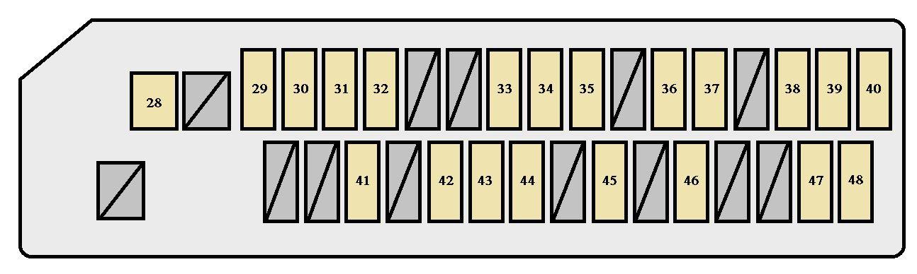 Scion Tc 2004 2010 Fuse Box Diagram Auto Genius
