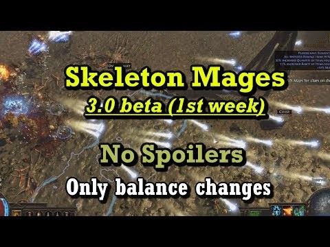 how to get skeleton mages poe