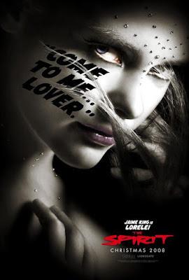 The Spirit Character Movie Posters - Jamie King is Lorelei