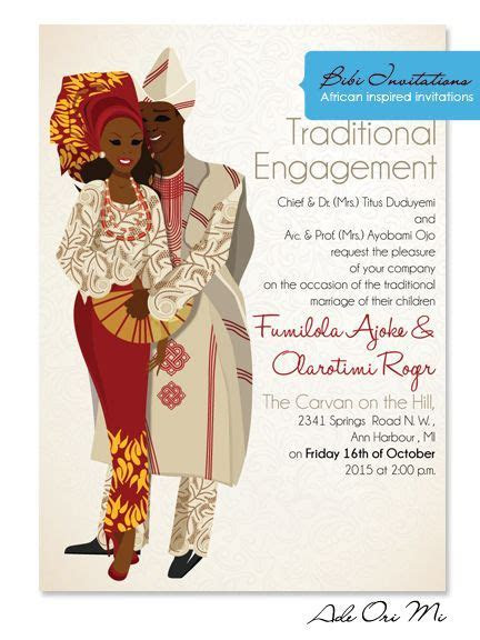 8 best Invitations images on Pinterest   African weddings