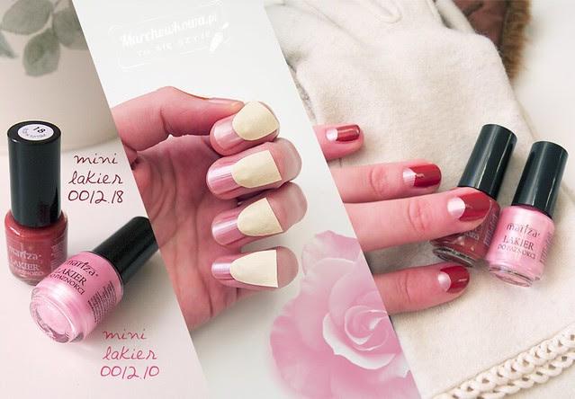 marchewkowa, blog, szafiarka, recenzja, kosmetyki, Mariza, polska firma kosmetyczna, half-moon manicure, półksiężycowy, retro