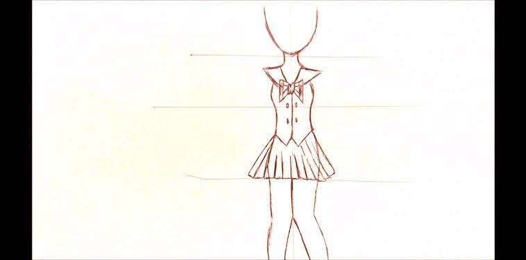 Girl Drawing Easy Full Body