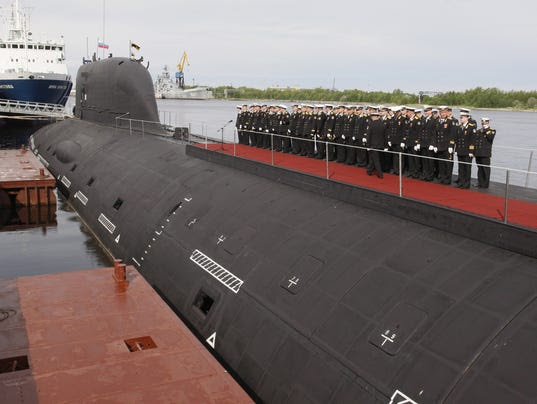 Severodvinsk nuclear submarine joins Russian Navy