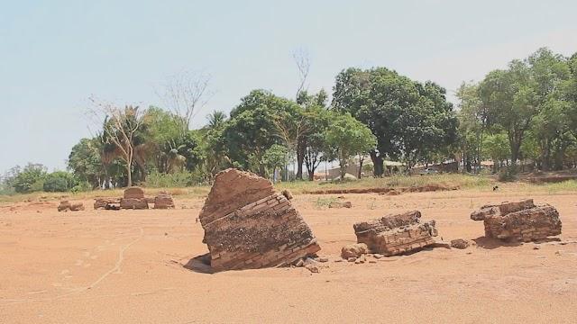 Ruínas de cidade do interior de SP reaparecem por conta da estiagem; veja fotos