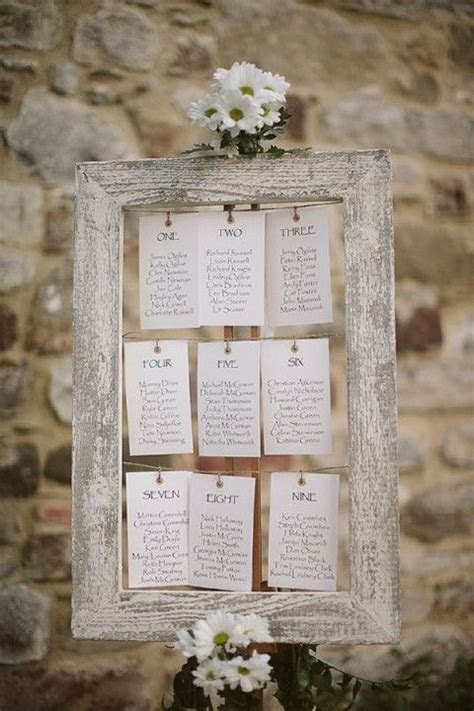107 Original Wedding Seating Chart Ideas   Projects to Try