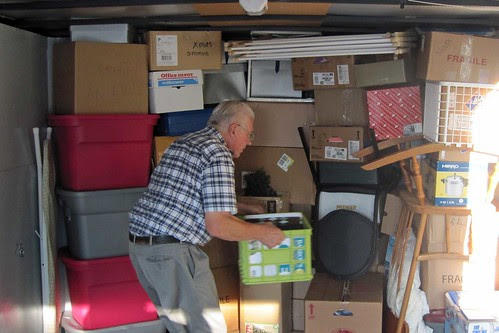 Packing The Trailer