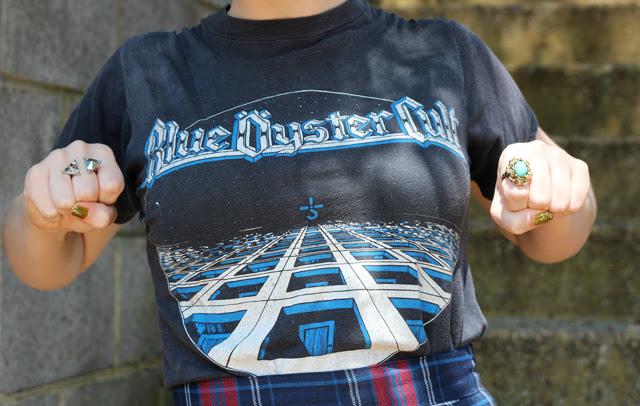 Vintage Blue Oyster Cult Shirt