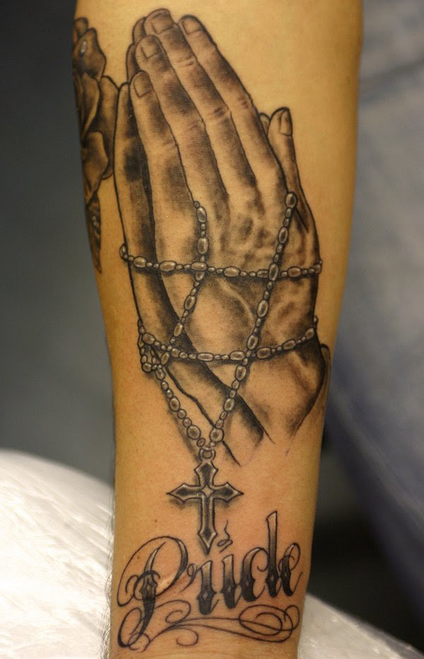 70 Best Praying Hands Tattoo Designs For People Of Faith 2018