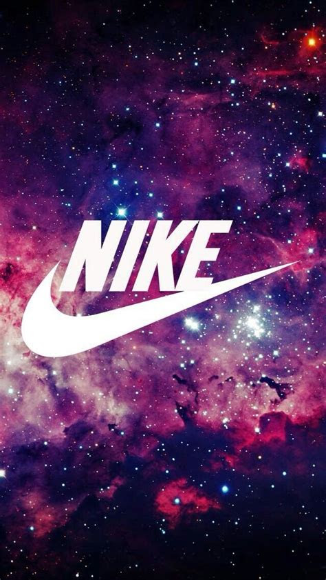 super cute galaxy nike wallpaper pinteres