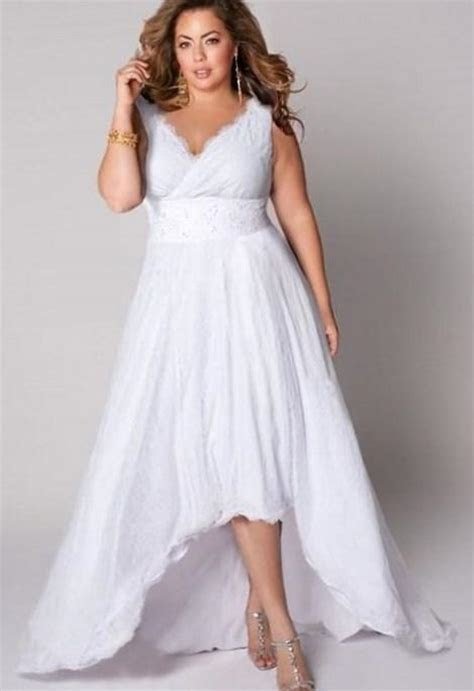 Plus size informal wedding dresses   PlusLook.eu Collection