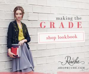 Ruche Back to School Lookbook