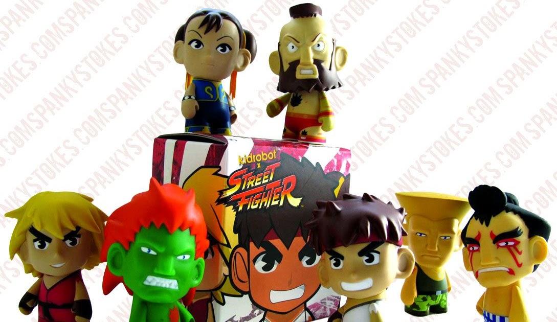 Street Fighter Mini-Kidrobot-CAPCOM ACTION FIGURES Collection Art Series 3