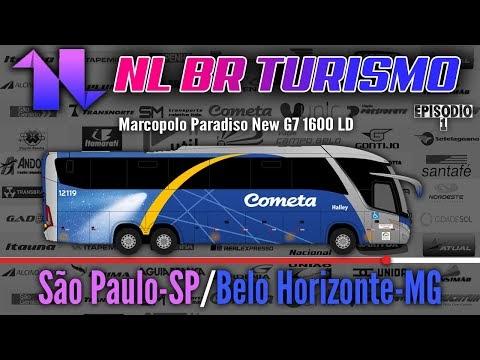 Viação Cometa | São Paulo-SP | Belo Horizonte-MG