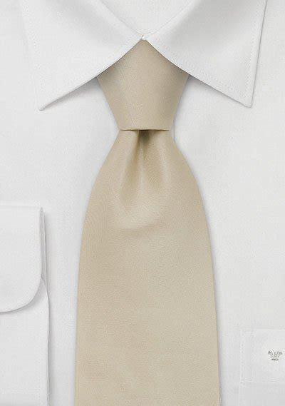 Solid Cream Colored Silk Tie   Bows N Ties.com