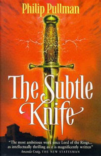 The Subtle Knife, Philip Pullman | Tacky Harper's Cryptic Clues