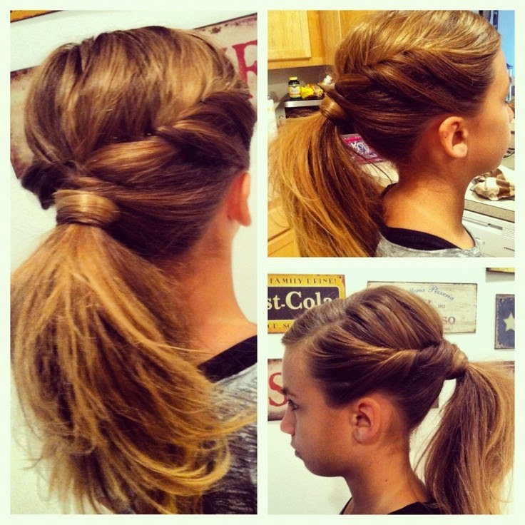10 Cute Ponytail  Ideas  Summer and Fall Hairstyles  for