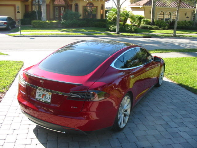 2013 Tesla Model S P85 Performance Rare Color Options