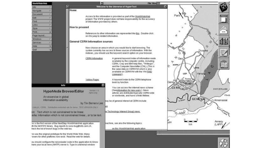 25 años de la primera página web