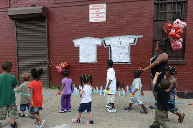 Jersey City Police Officer Melvin Santiago shot and killed, July 13, 2014