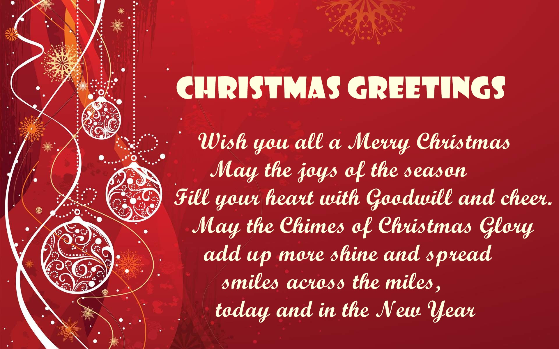 christmas greetings for cards - HD1920×1200
